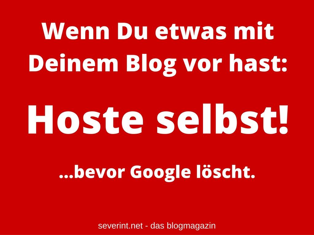 blog-selber-hosten-google