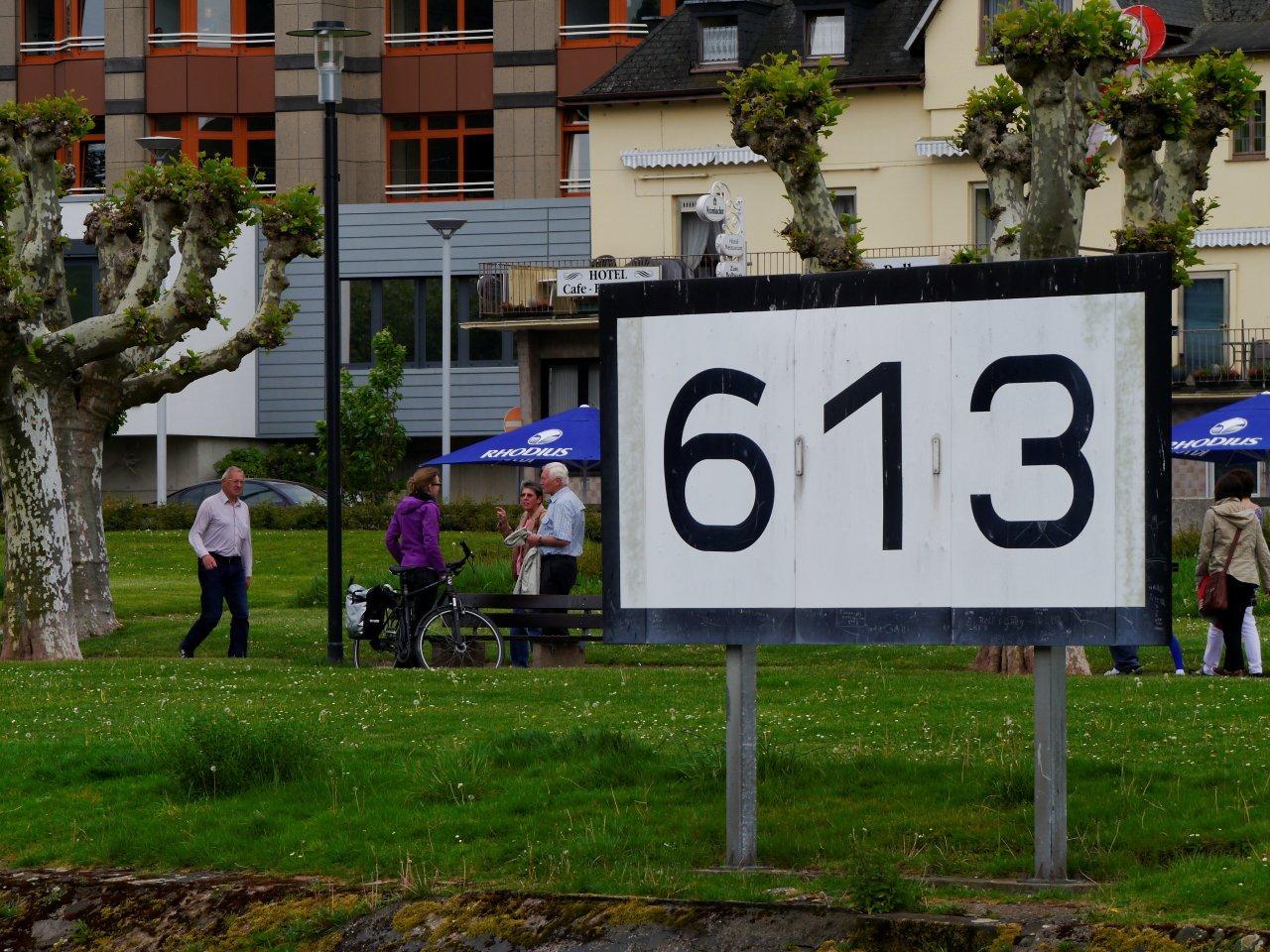 Rheinkilometer-613