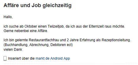 affaire-und-job-gleichzeitig