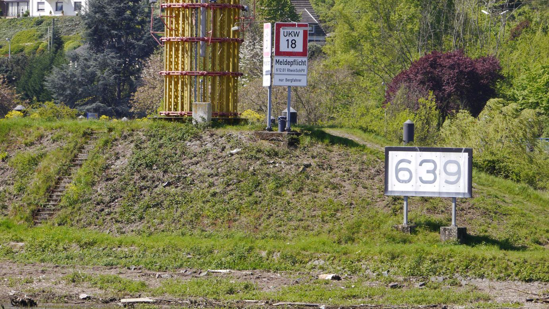 Rheinkilometer_639_Oberwinter_lrh