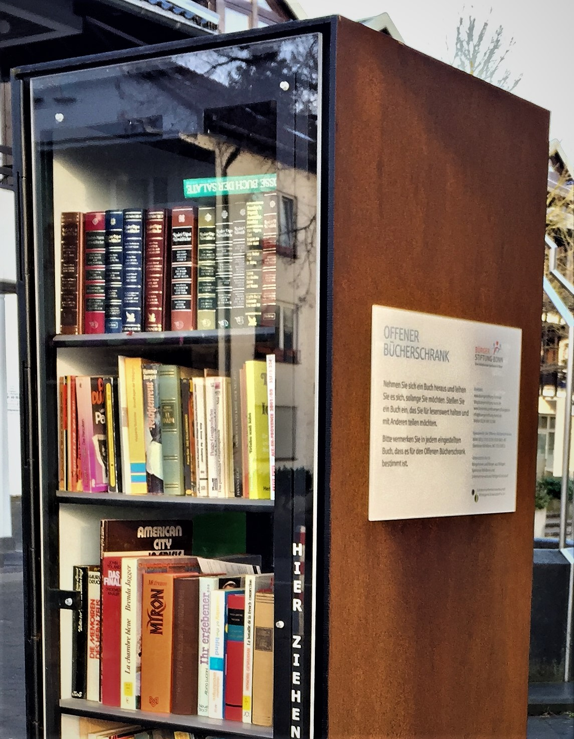 Liste: Bücherschränke und Büchertauschstellen in Bonn | das BlogMagazin