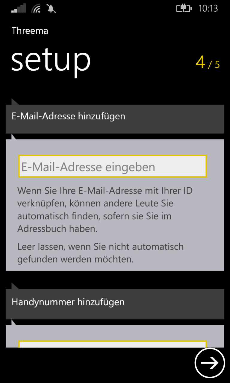 threema-mail-handynummer
