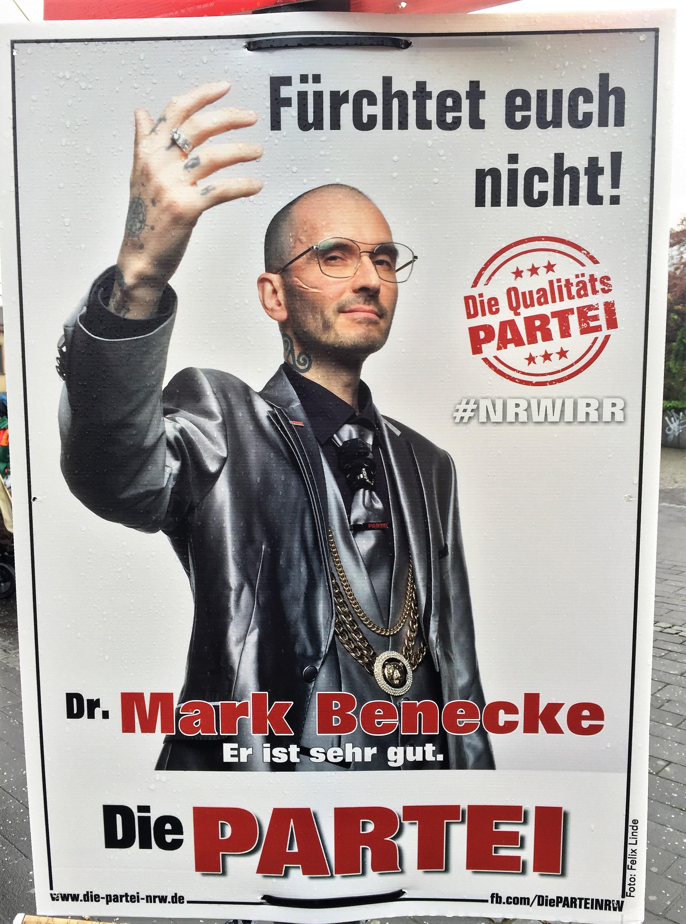 Partei Wahlplakate