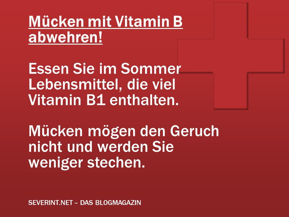 tipp m cken mit vitamin b1 abwehren das blogmagazin. Black Bedroom Furniture Sets. Home Design Ideas