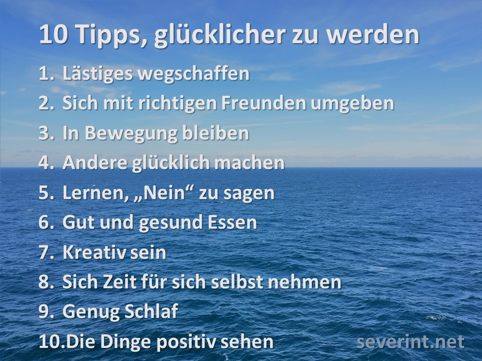 10 tipps zum international day of happiness um gl cklicher zu werden das blogmagazin. Black Bedroom Furniture Sets. Home Design Ideas