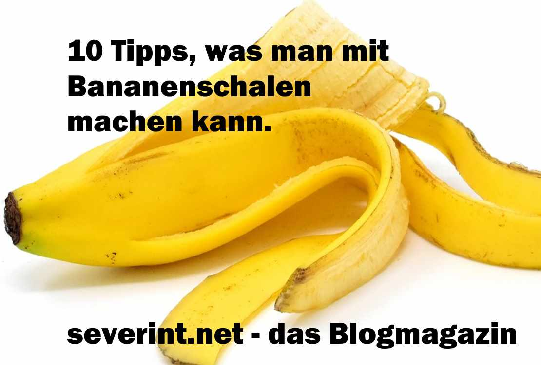 10 tipps was man mit bananenschalen machen kann das blogmagazin. Black Bedroom Furniture Sets. Home Design Ideas