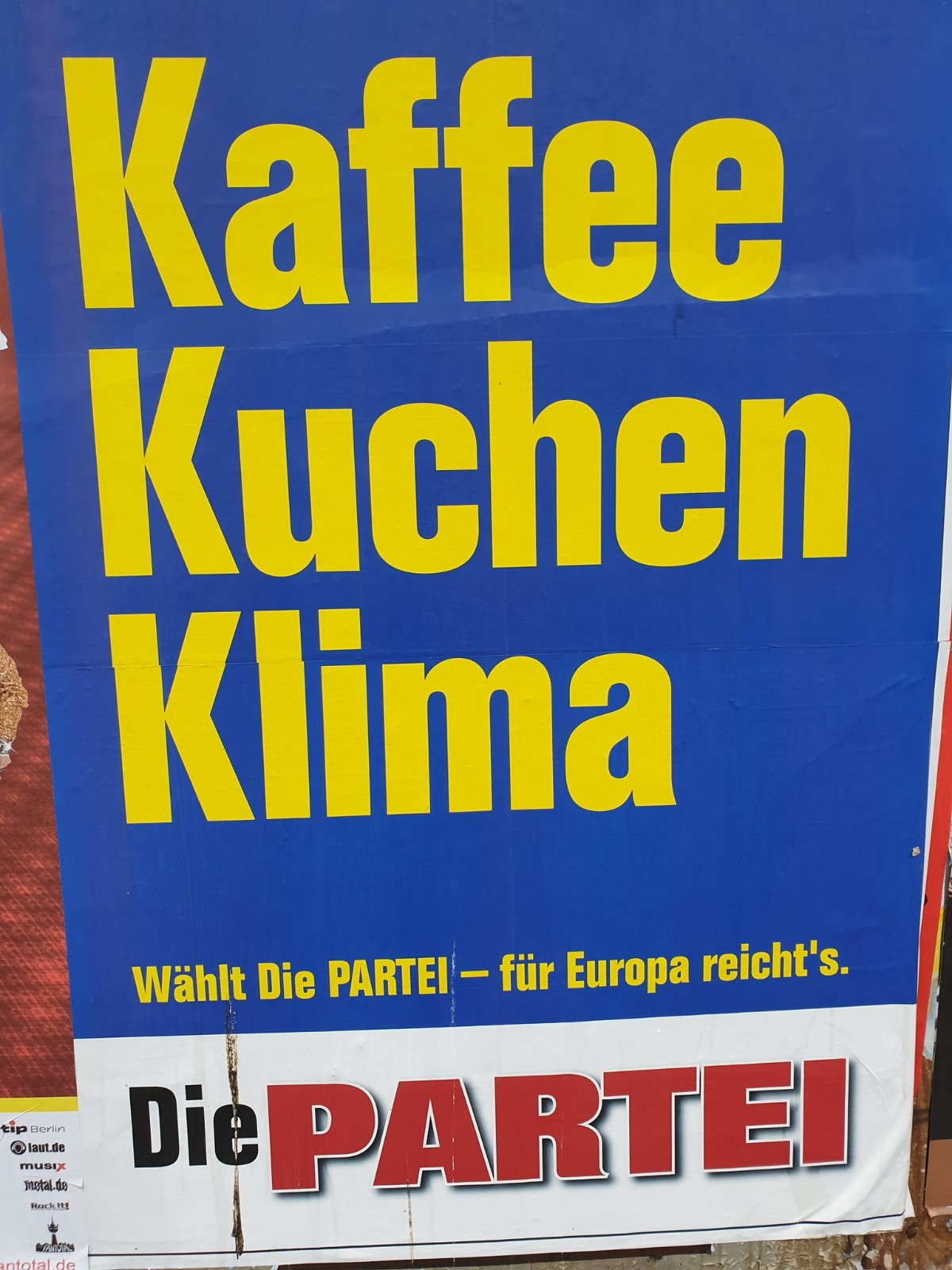 Wahlergebnisse Europawahl 2021 Die Partei