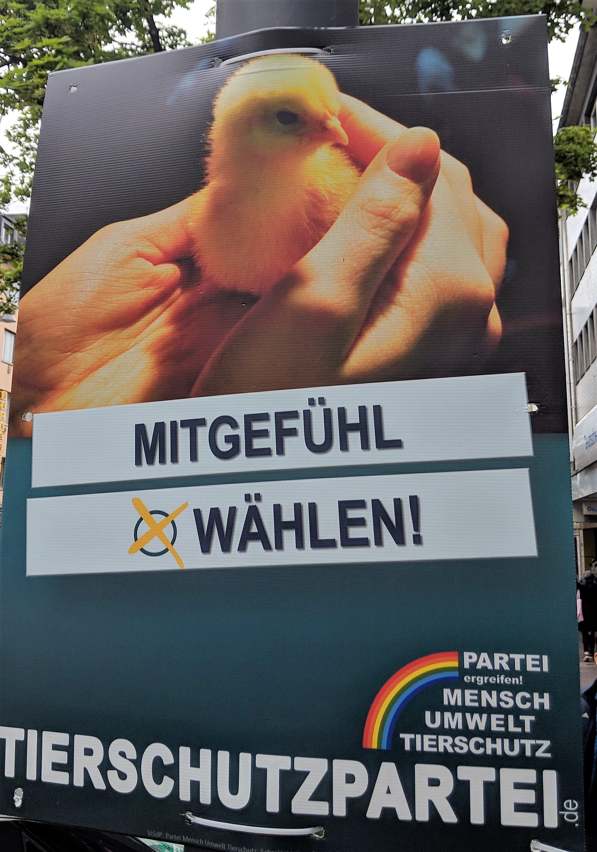 Europawahl Tierschutzpartei
