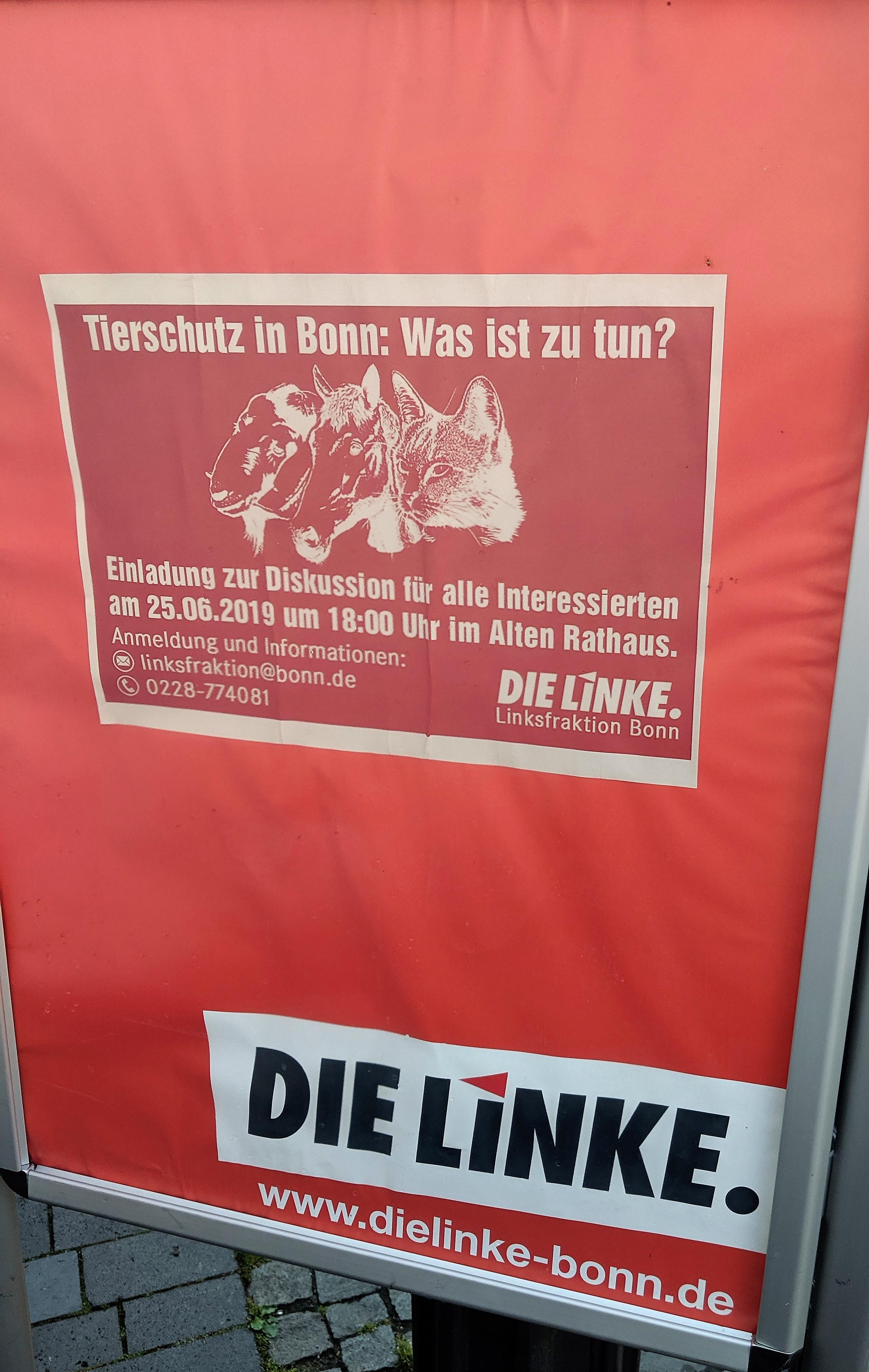 Tierschutz Bonn