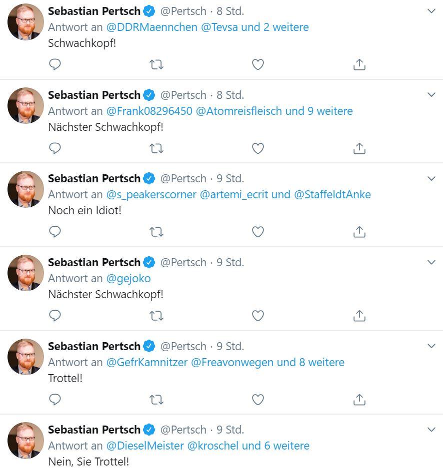 Vorlage Strafanzeige Gegen Sebastian Pertsch Wegen Beleidigung Das Blogmagazin