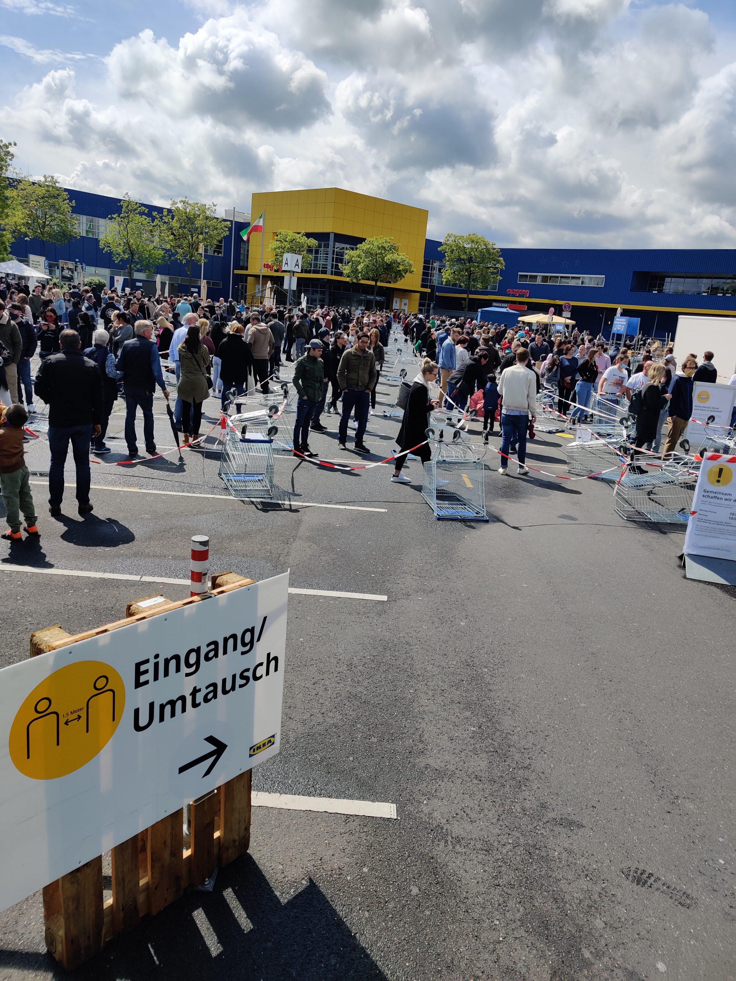 Ikea Wiedereröffnung Nach Corona