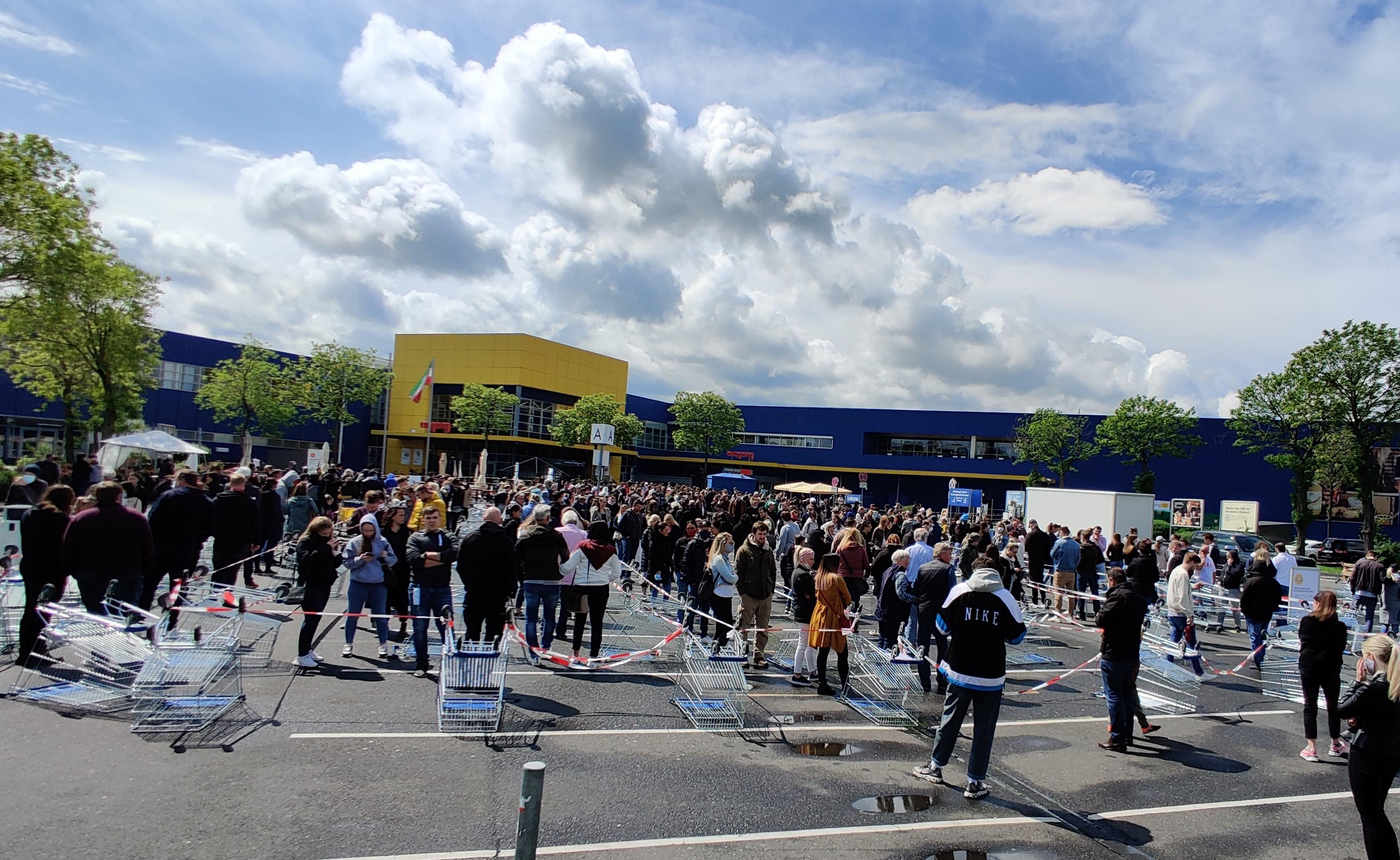 Ikea Schlange