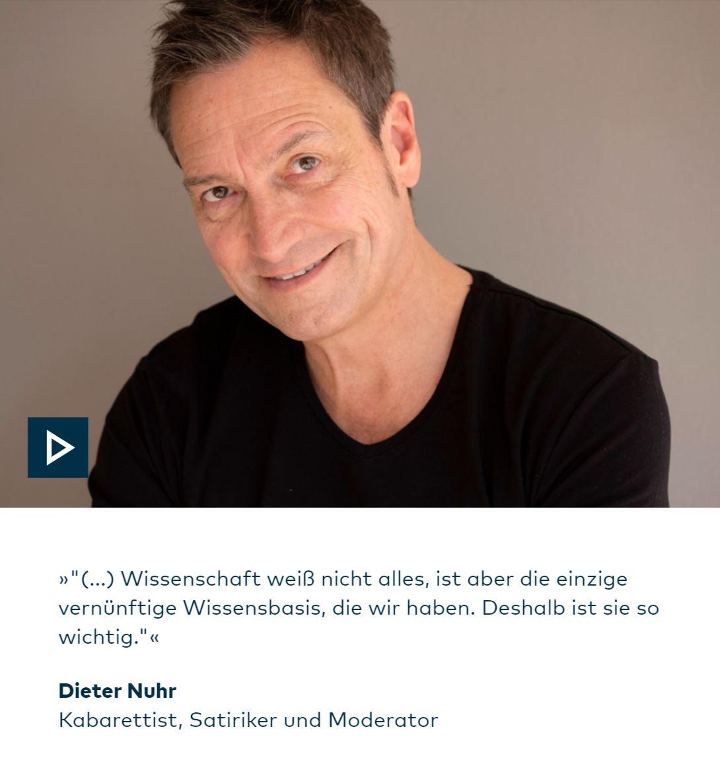 Pressemitteilung Beitrag Von Dieter Nuhr Bei Der Dfg Wieder Online Das Blogmagazin
